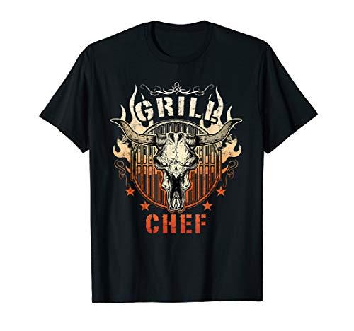 BBQ - Grillchef - das Shirt für den Chef am Grill