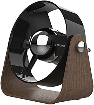 Sharper Image SBS1-SI Small Personal USB Fan With Soft Blades