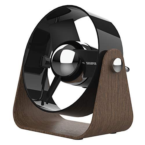 Sharper Image SBS1-SI Ventilador con aspas Suaves, 2 velocidades, Control táctil, Funcionamiento…