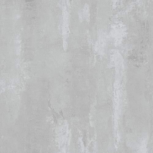 Tapete Beton hellgrau 374122 | Tapete Putz Industrial Styl 37412-2 | Vliestapete Betonoptik für Wohnzimmer, Büro und Schlafzimmer | online kaufen!