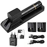 Solong Tattoo Kit Rotary Tattoo Machine Pen Japanese coreless motor 2 lithium battery wireless tattoo power supply with Magnetically Controlled Tattoo Pen Base EM116-1