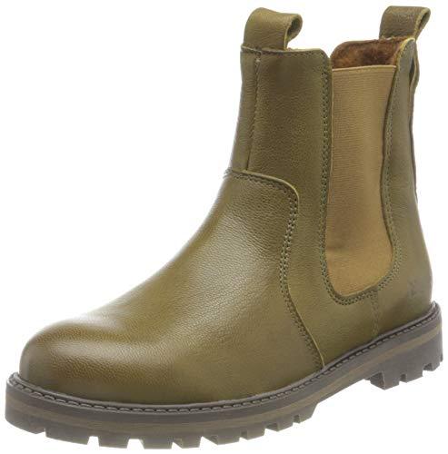 Bisgaard Chelsea Boot, Olive, 34 EU