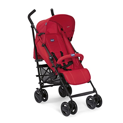Chicco London - Silla de paseo, 7.2 kg, compacta y manejable, color rojO (Red Passion)