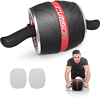 HARISON AB Roller Wheel for Abdominal Exercise (Red)