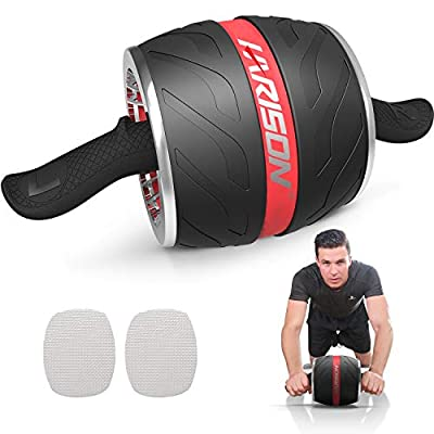 HARISON AB Roller Wheel for Abdominal Exercise-...