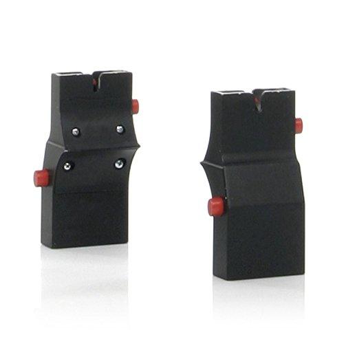 ABC DESIGN 9104600 Adaptateur pour poussette, noir