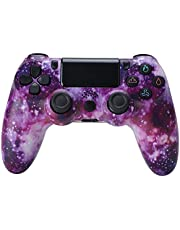 PS4 Joystick Controller, PS4 Wireless Controller Playstation 4 Gaming Joystick Bluetooth Gamepad Controller con Doppia Vibrazione e 6-Axis Gyro Sensor - Classico Cool
