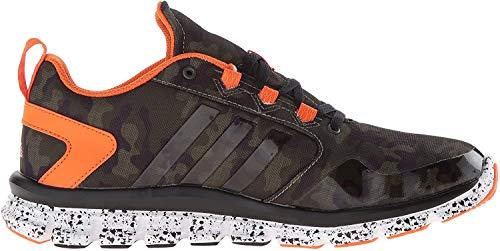 adidas Performance Men's Speed 2 Camo Cross-Trainer Shoe, Base Green/Base Green/Orange, 8 M US