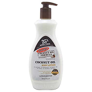 Palmers Coconut Oil Body Lotion 17 Ounce (500ml) (2 Pack)