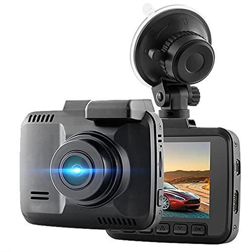 QQ HAO Grabadora De Conducción De Visión Nocturna De 4K HD, Pista De GPS Incorporada/WiFi, Grabadora De Cámara Única Oculta, Lente De Gran Angular De Alta Resolución De 150 Grados A + Nivel