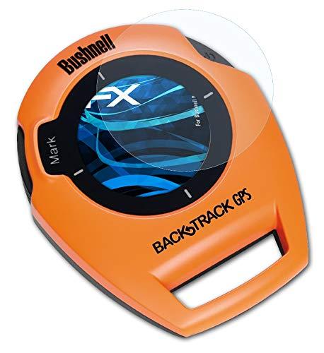 atFoliX Lámina Protectora de Pantalla Compatible con Bushnell BackTrack Película Protectora, Ultra Transparente FX Lámina Protectora (3X)