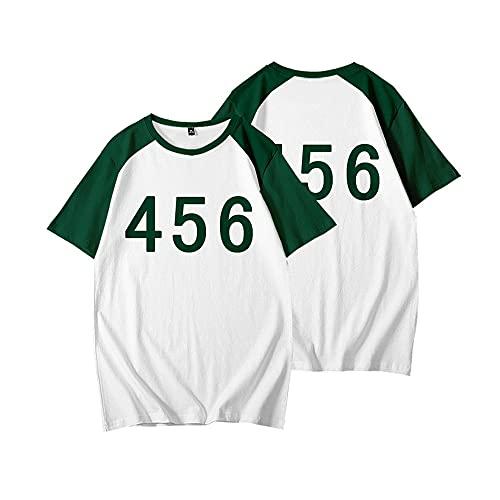 2021, Camiseta de Juego de Calamar de...