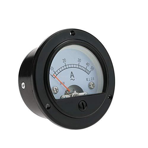 BeMatik - Meter elektrisch analog für Platte Runde 52mm 50A Amperemeter