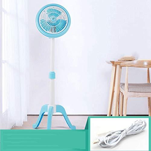 A-myt Pequeño y Lindo Pequeño Ventilador eléctrico Mini Estudiante Dormitorio Cama pequeño fanático Oficina Dormitorio mesita de Noche Ventilador Ventilador Trae una sensación de frescura (Size : Q)