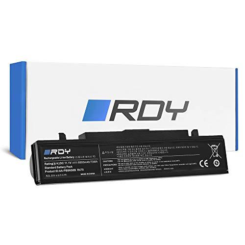 RDY 6600mAh Batteria AA-PB9NC6B AA-PB9NS6B per Samsung R519 R522 R525 R530 R540 R580 R620 R719 R780 RC510 RC520 RC530 RC710 RC720 RC730 RF510 RF511 RF710 RF711