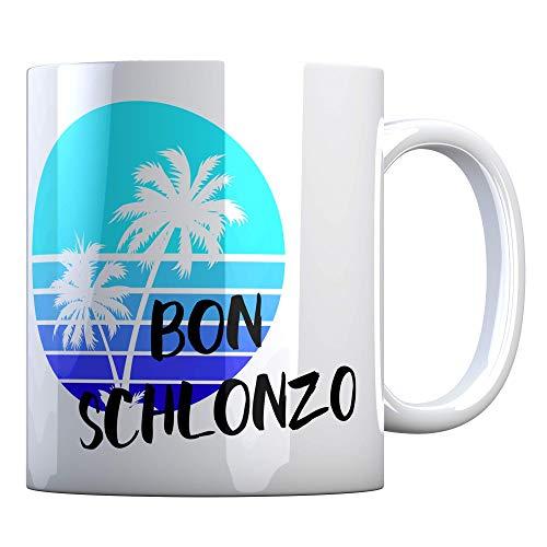 Tassenbude Tasse mit lustigem Spruch Hashtag Henrik - BON SCHLONZO - Büro Job Arbeit Witzig Kaffeetasse Geschenk-Idee beidseitig bedruckt spülmaschinenfest Bürotasse Liebesinsel Trash TV love island