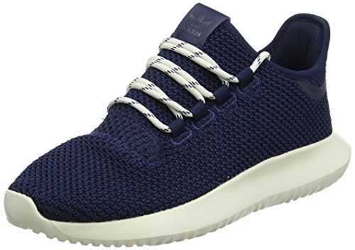 adidas Unisex-Kinder Tubular Shadow Fitnessschuhe, Blau (Maruni/Maruni/Blatiz 000), 34 EU