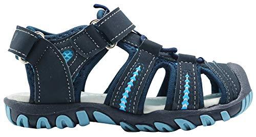 Apakowa-Kids-Boys-Girls-Soft-Sole-Close-Toe-Sport-Beach-Sandals-ToddlerLittle-Kid