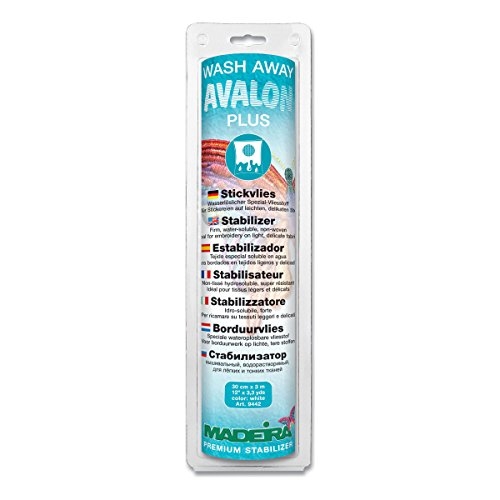 Madeira Avalon Plus transparent - Rolle (0,30 x 3 m)