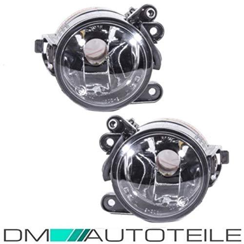 DM Autoteile Golf 5 Golf V Standard Nebelscheinwerfer Klarglas + Halterung + E-Prüfzeichen