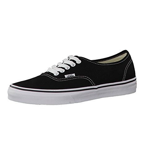 Vans AUTHENTIC VEE3 Unisex-Erwachsene Sneakers, schwarz/Weiß, EU 42