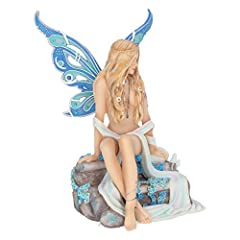 Nemesis Now Jewelled Fairy Sapphire 19cm Figurine, Resin, Blue #5