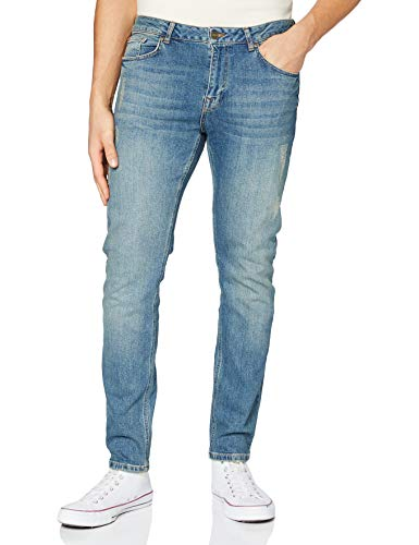 Lee Cooper Norris Slim Fit Jeans, Sarcelle, 32W x 32L Homme
