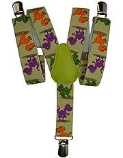 Olata Tirantes 'Y-Forma' para los Niños/Niñas 1-5 años con Dinosaurio Patrón