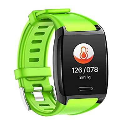 HalfSun Fitness Tracker, Activity Tracker Fitness Watch with Heart Rate Monitor, Blood Pressure Monitor, IP67 Waterproof Smart Watch with Sleep Monitor, Calorie Counter, Pedometer for Kids Men Women