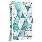 Blllue Wallet Coque Compatible with Xiaomi Mi 9 Pro, 3D Painted PU Leather Protective Cover Flip...
