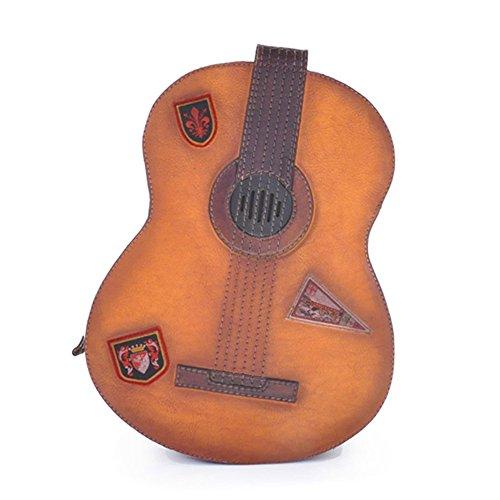 Pratesi Gitarre Rucksack - B434 Bruce (Cognac)