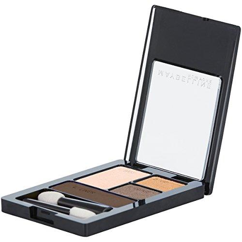 Maybelline New York Expert Wear Eyeshadow Quads, Mocha Motion, 0.17 oz.
