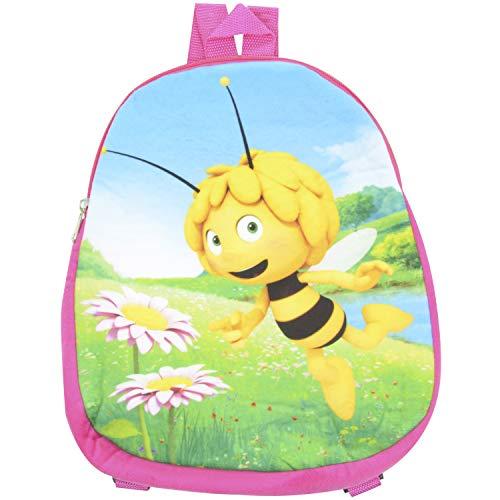 Biene Maja Kinder Rucksack Rosa 32,5 x 27 cm Für Kindergarten Schule Freizeit