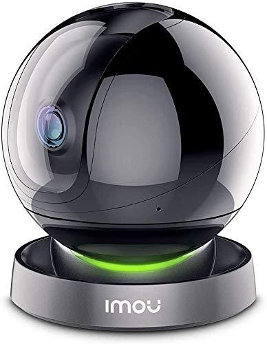 Imou Cámara de Vigilancia WiFi Interior, Dome Cámara 360° con Seguimiento Automático de Movimiento, Modo de Privacidad, Audio Bidireccional y Visión Nocturna, Ranger Pro