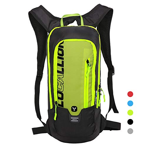 LOCALLION Cycling Backpack Biking Backpack Riding Daypack Bike Rucksack Breathable Lightweight for Outdoor Sports Travelling Mountaineering Hydration Water Bag Men Women 6L