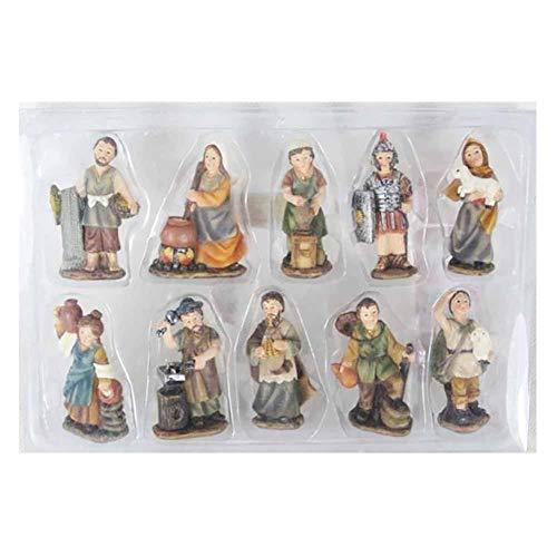 We Love Christmas Statuine presepe Mestieri presepe 10 pz 3cm