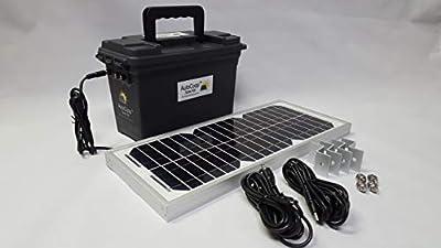 Incubator Warehouse AutoCoop Coop Door Solar Power Kit