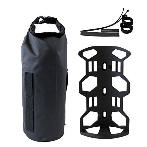 GORIX ゴリックス 自転車 多目的ケージ 防水バッグ セット [ ツーリング 防水 バッグ パニア ] フロントフ...
