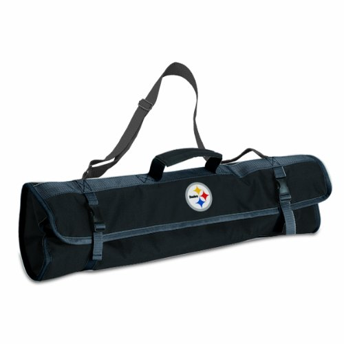 Cheap NFL Pittsburgh Steelers 3-Piece BBQ Tool Tote