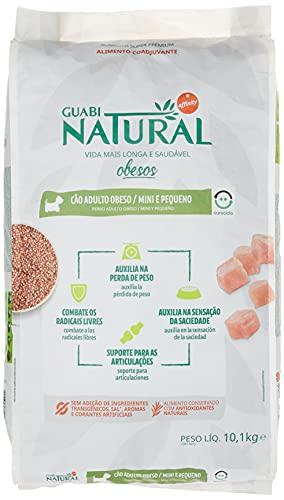 Ração Guabi Natural Obeso Racas pequenas 10.1kg