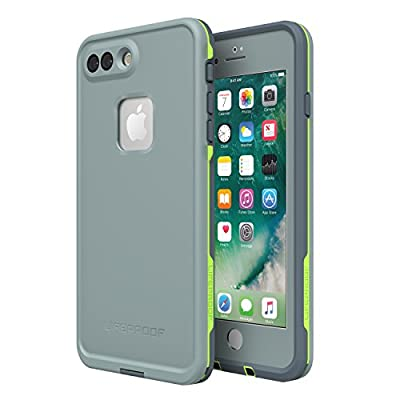 Lifeproof FR? SERIES Waterproof Case for iPhone 8 Plus & 7 Plus (ONLY) - Retail Packaging - DROP IN (ABYSS/LIME/STORMY WEATHER)