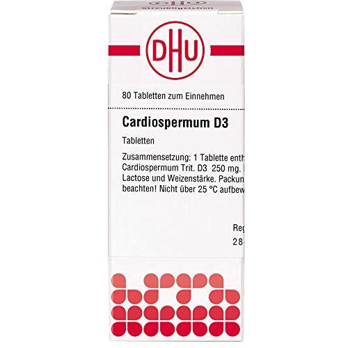 DHU Cardiospermum D3 Tabletten, 80 St. Tabletten