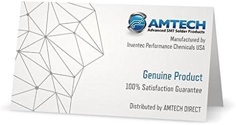 AMTECH NC-559-ASM-TF Flujo de soldadura sin limpiar con trazador UV 10 cc