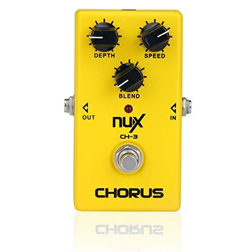 CH-3 Pedal de Efecto de Guitarra eléctrica Chorus Low Noise BBD True...