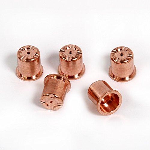 Boquilla de larga duración adecuado TRAFIMET para CEBORA P 70 cortos de diámetro y 1,2 mm unidades 5 pcs