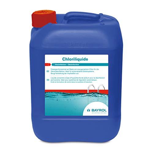 Bayrol Chloriliquide Flüssigchlor für Pool Dosieranlage, blau