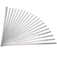 フィラーシックネスゲージ、ステンレス鋼製造、メトリックフィーラー、シックネスゲージ、20ブレードフィーラー、測定チェック用