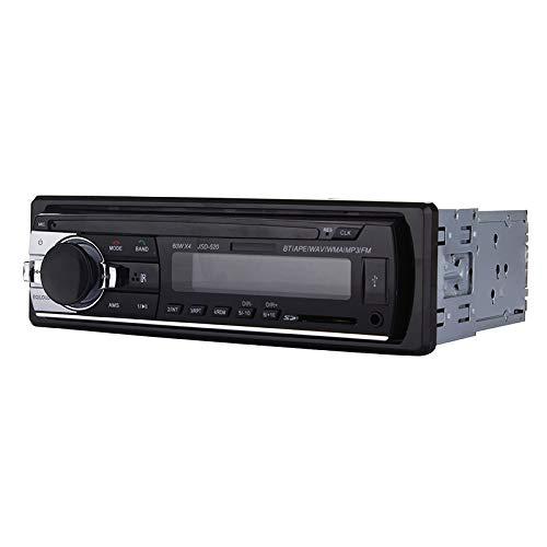 Luoshan JSD-520 Auto-MP3-Player mit Fernbedienung, Unterstützung FM, BT, USB/SD/MMC