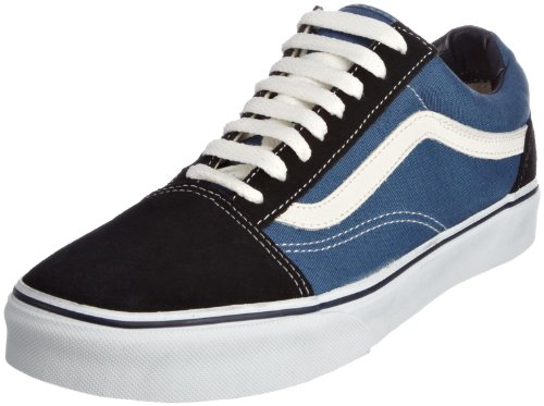 VANS Unisex-Erwachsene Old Skool Sneakers, Colour is Blue (Navy), 43 EU