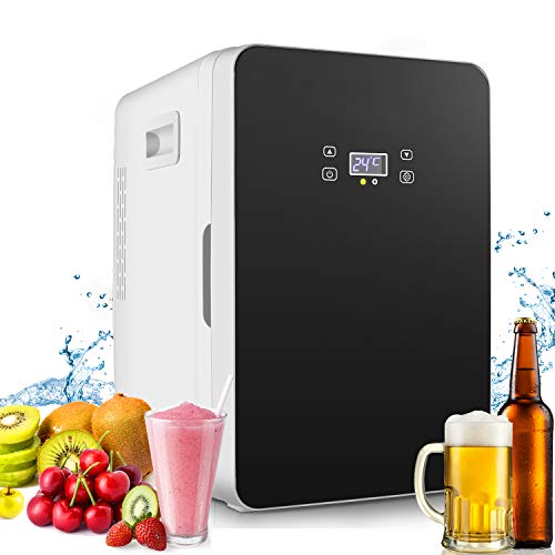 Compact Refrigerator,20-lifter Large Capacity,Cooler and Warmer Compact Freezer Single Door Mini Fridge With Digital Thermostat Display And Control Temperature
